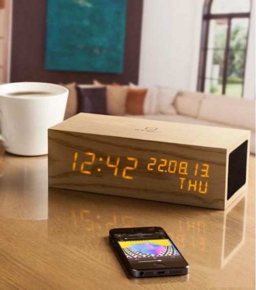 L'Avant Gardiste - Horloge/Réveil bluetooth