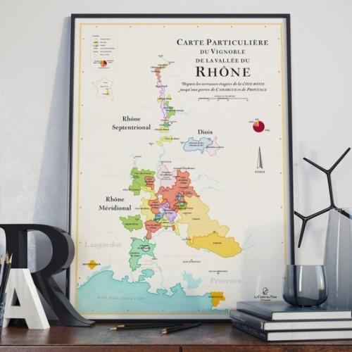 Les Raffineurs - Affiche carte des vins