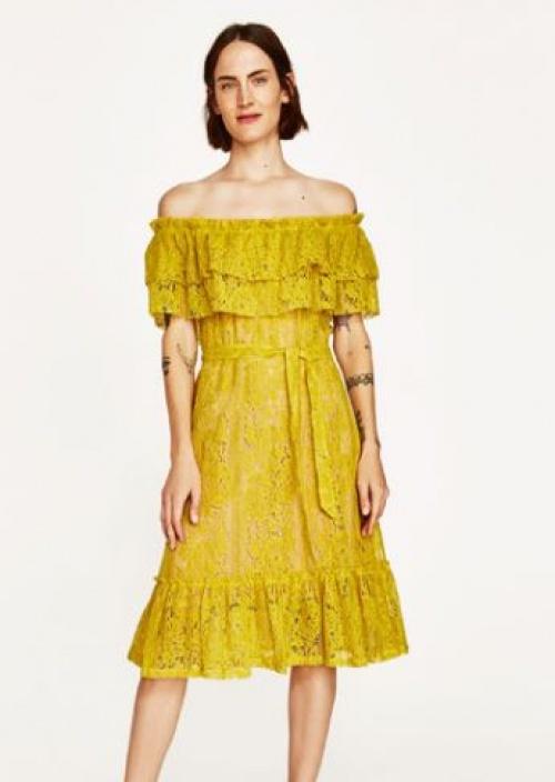 Zara - Robe bardot