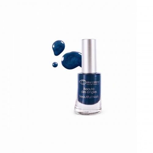 Vernis naturel bleu nuit - Couleur Caramel