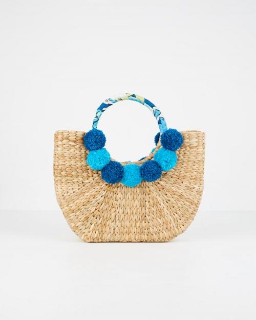 Apraya - Paloma imprimé bleu