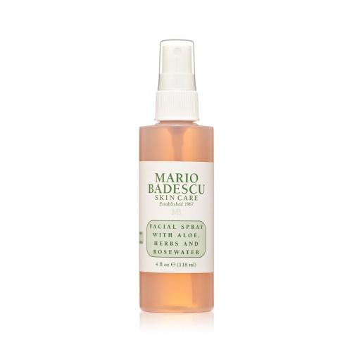 Spray visage à l'Aloe Vera et eau de rose - Mario Badescu