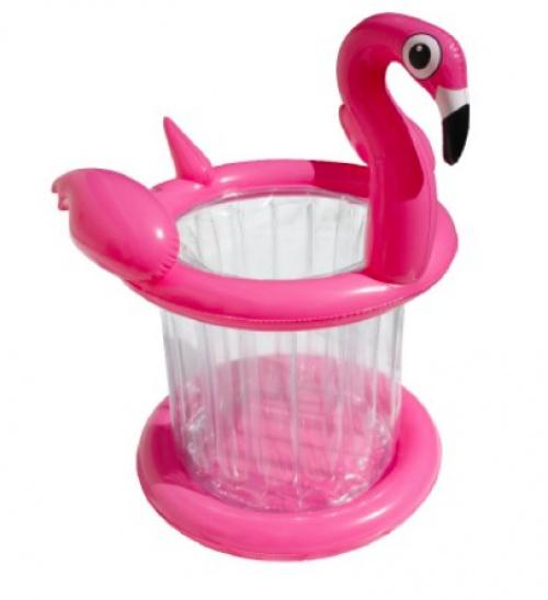 Gifi - Seau à glaçons flottant flamant rose