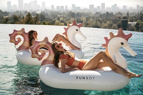 Funboy - Bouée seahorse