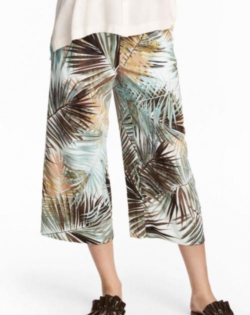 H&M - Jupe-culotte tropicale