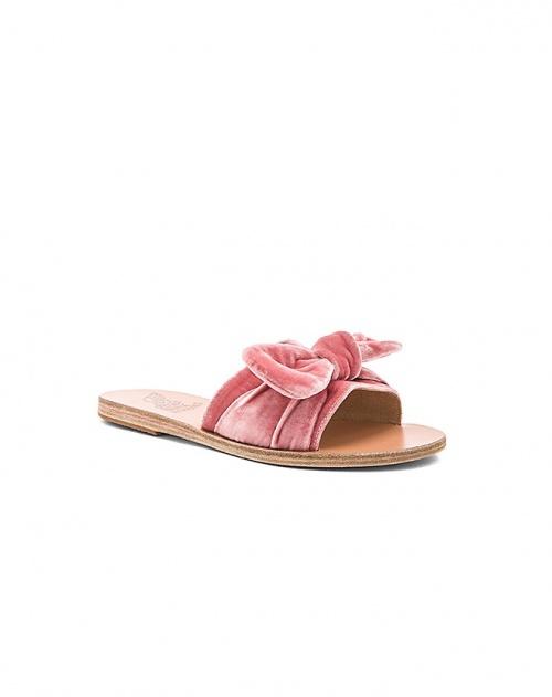 Ancient Greek Sandals - Mules plates