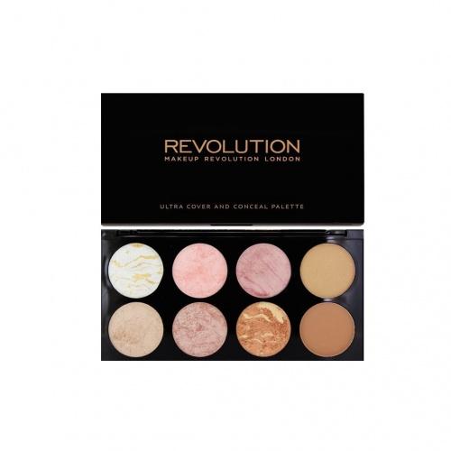 Palette Contour et Blush Golden Sugar - Makeup Revolution