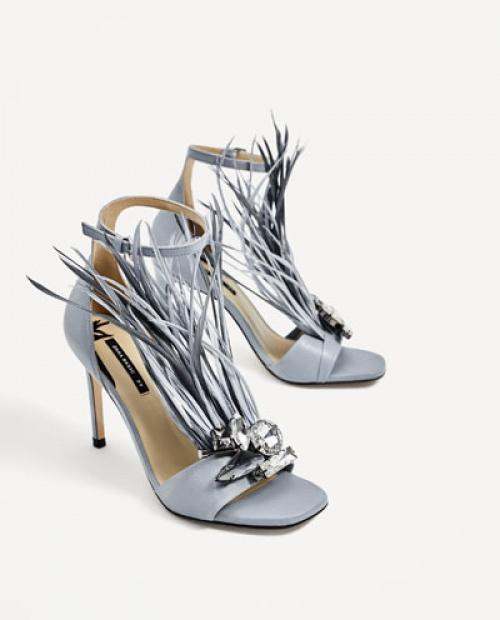 Zara - Sandales plume