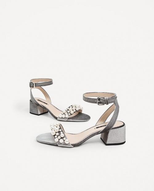 Zara - Sandales perles