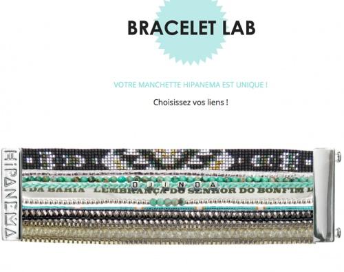 Hipanema - Bracelet LAB personnalisable