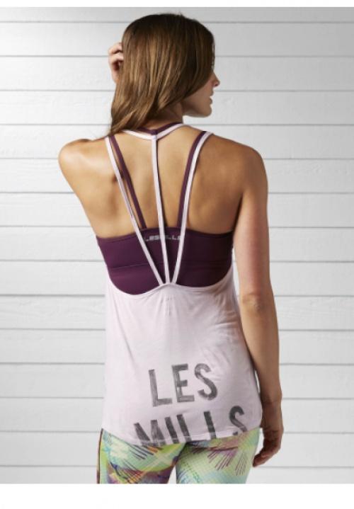 Débardeur de danse (shell purple) les mills