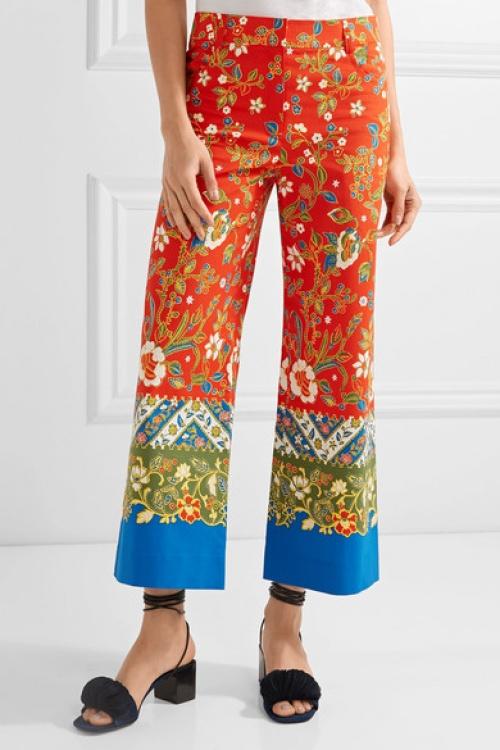 Tory Burch - Pantalon fleur