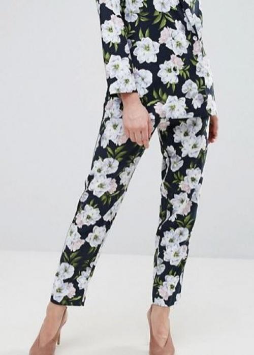 Oasis - Pantalon à fleurs