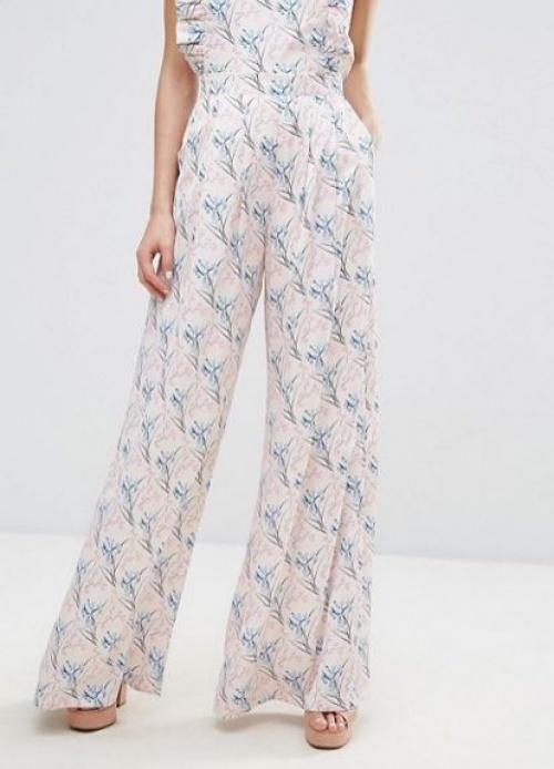 Horrockses - Pantalon à petites fleurs