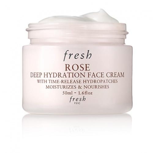 Crème hydratation intense à la rose - Fresh