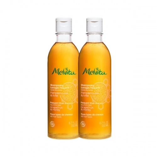 Duo Shampooing Lavages Fréquents - Melvita
