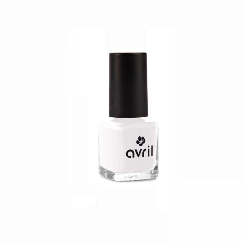 Vernis à ongles blanc - Avril
