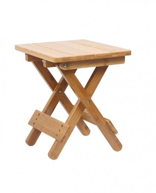 Lhl-wooden stool - Tabouret pliant