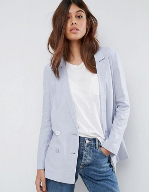 Asos Tailored - Blazer en lin