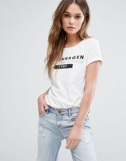 T-shirt avec inscription Copenhagen