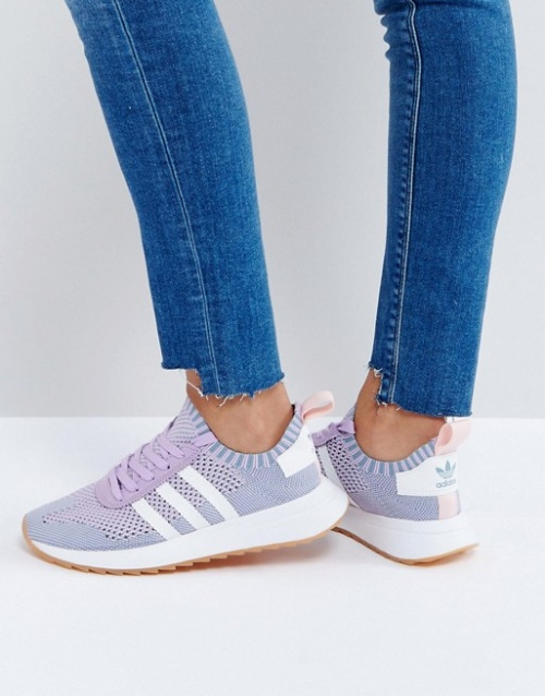 adidas Originals - FLB Primeknit - Baskets - Lilas