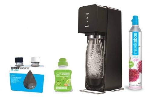Machine à eau pétillante + soda