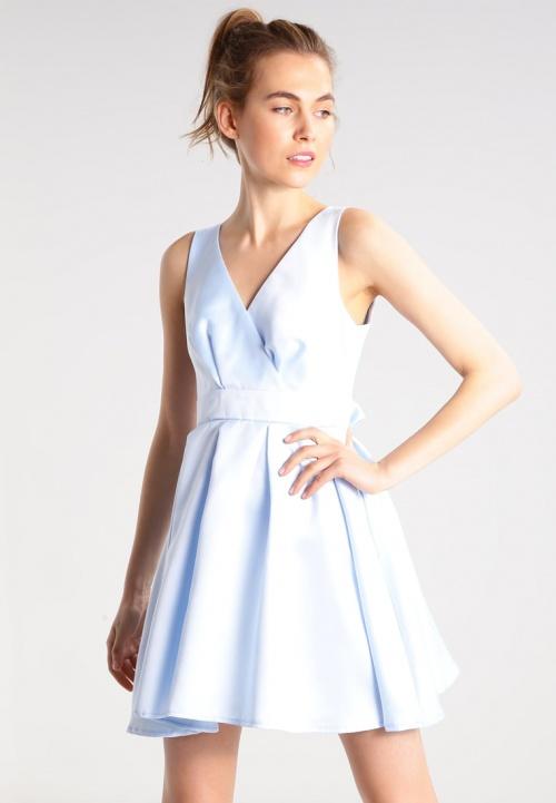 robe cache coeur bleu ciel