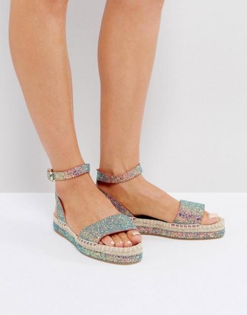 Asos - Espadrilles façon sandales
