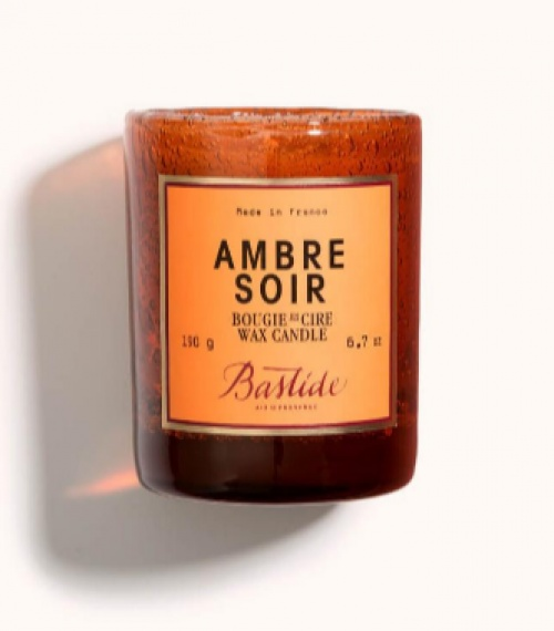Bougie en cire Ambre soir - Bastide