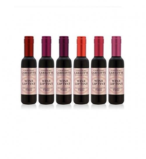 Lot de 6 lipsticks bouteille de vin - Chateau Labiotte