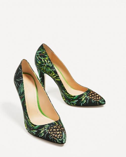 Chaussures imprimées tropiques