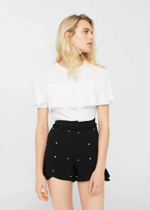 Short avec perles