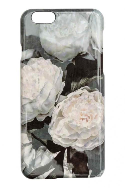 Coque fleurie