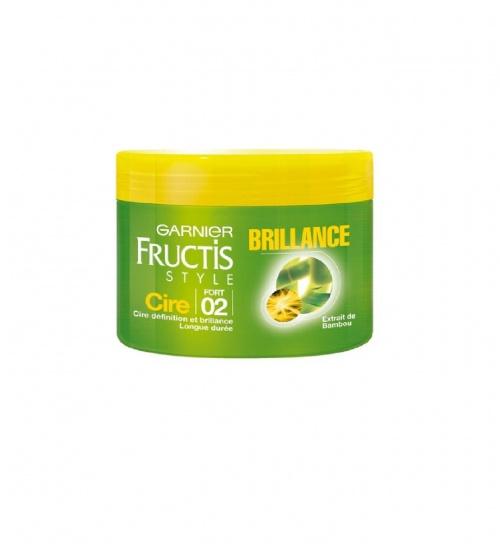 Cire brillance aux micro-cires de fruits fortifiantes, fort - Fructis