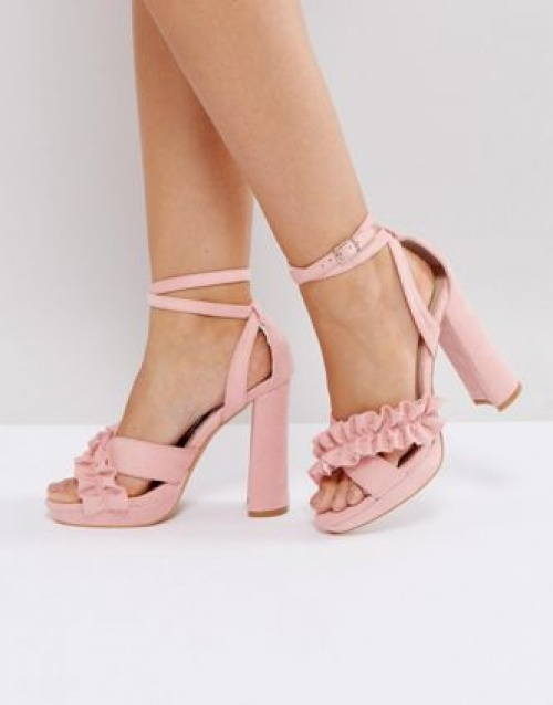 sandales roses