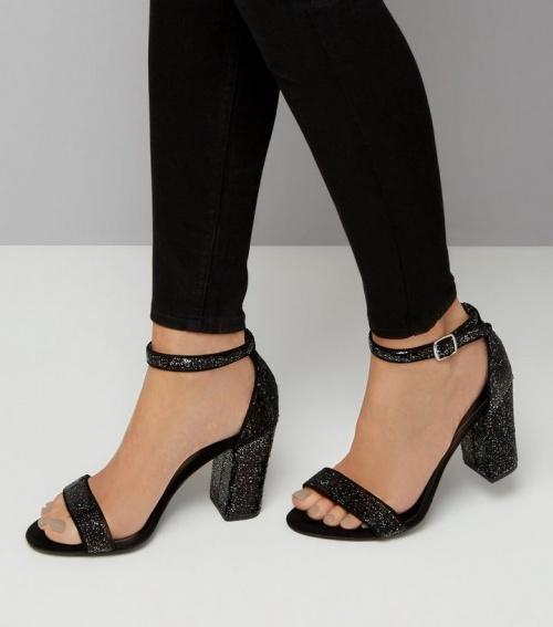 Sandales à paillettes