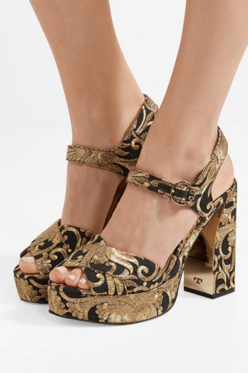 sandales brocart