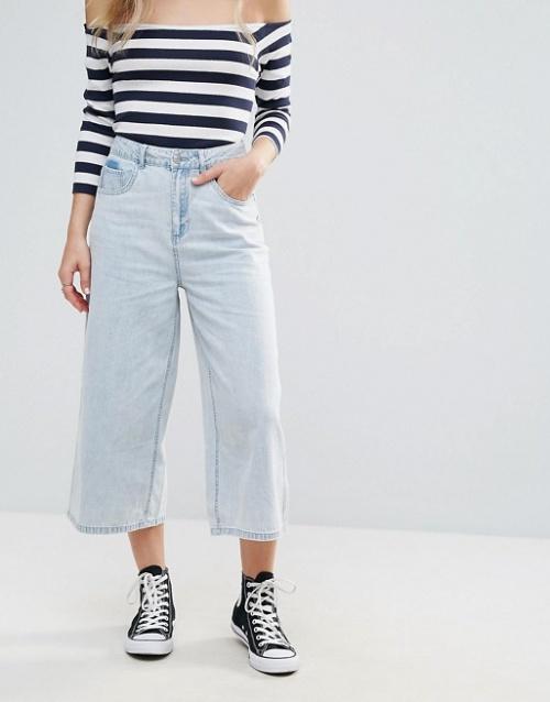 Vero Moda - Jupe-culotte en jean