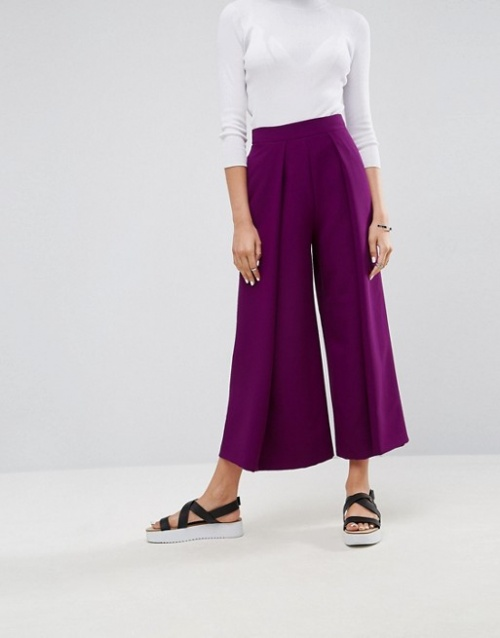Asos Tailored - Jupe-culotte à larges plis