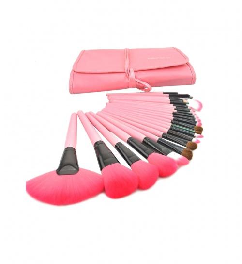 Kit de 24 Pinceaux Maquillage - Sunjas