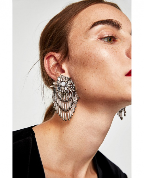 Boucles d'oreilles miroir