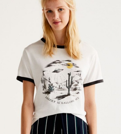 Pull & Bear - T-shirt