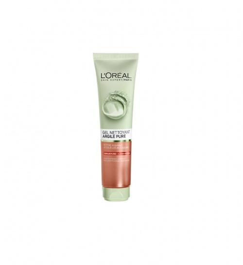 Argile Pure Gel Nettoyant Exfoliant - L'Oréal