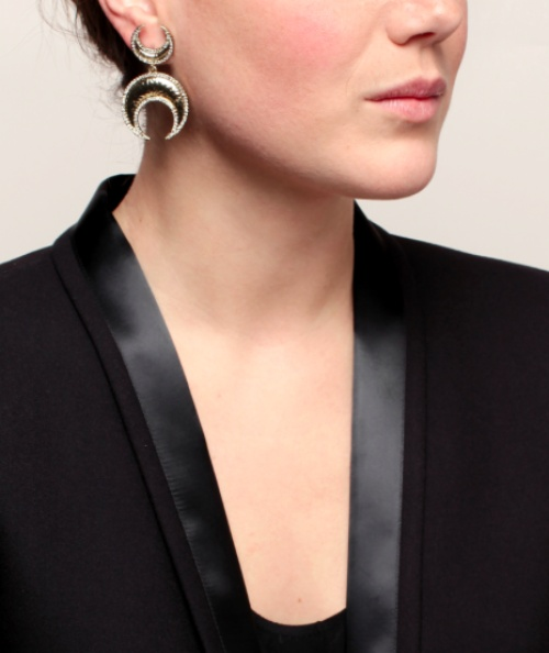 House Of Harlow 1960 - Boucles d'oreilles