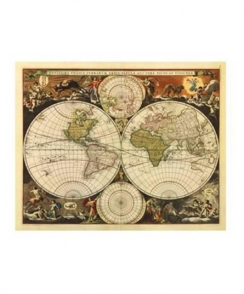 All Posters - Mappemonde