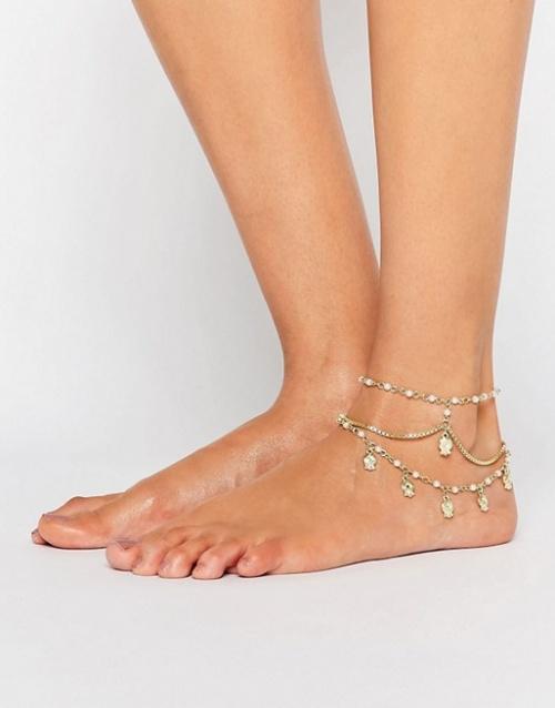 Asos - Bracelet de chevilles