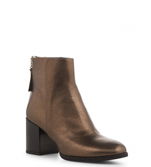 Bottines bronze