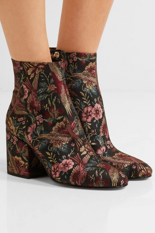 Bottines jacquard