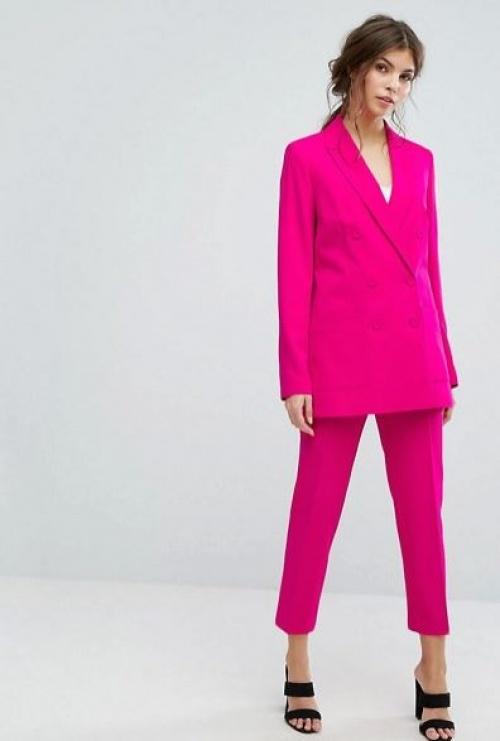 Oasis - Ensemble ajusté blazer croisé et pantalon
