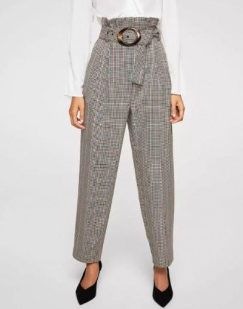 Mango - Pantalon de tailleur